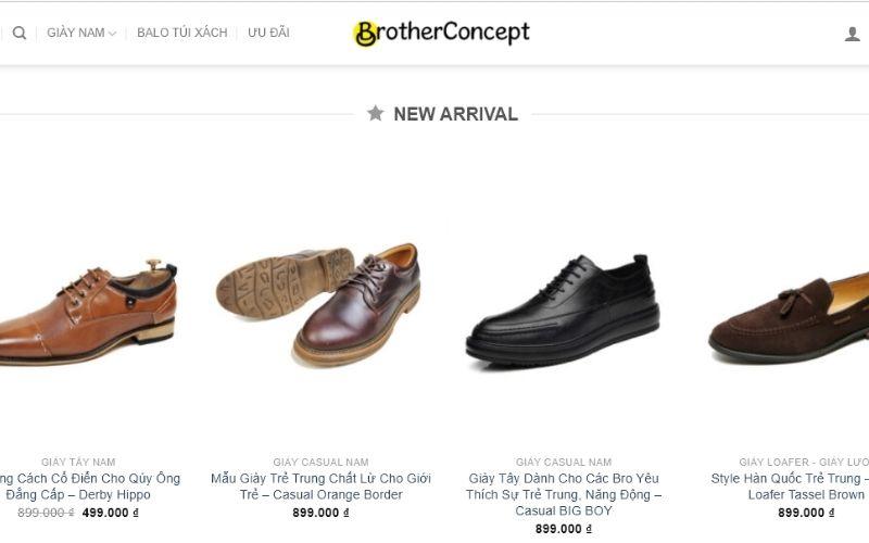 Lựa chọn những đôi giày tây chất lượng tại Brother Concept