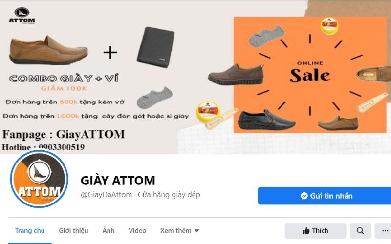 Nếu bạn muốn tìm một địa chỉ mua giày nam tphcm mà có chất lượng tốt thì Attom chính là câu trả lời cho bạn