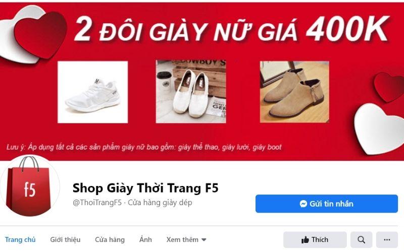 Địa chỉ mua giày nam tphcm Shop thời trang f5