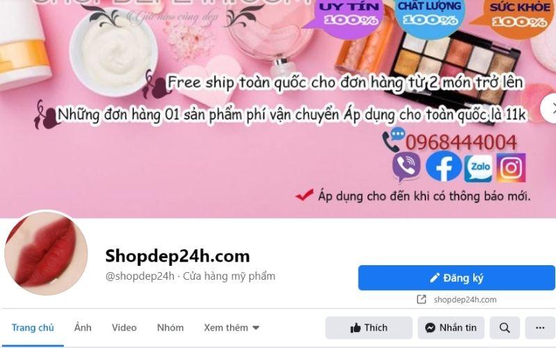 Shopdep24h là địa chỉ mua nước hoa ở Cần Tho
