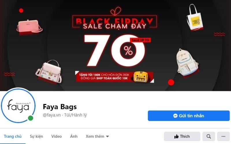 Bạn có thể tìm thấy những chiếc ví, túi xách xinh xắn tại Faya Bags