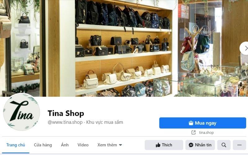 Cửa hàng Tina chuyên cung cấp túi xách, ví chất lượng và có độ thẩm mĩ cao