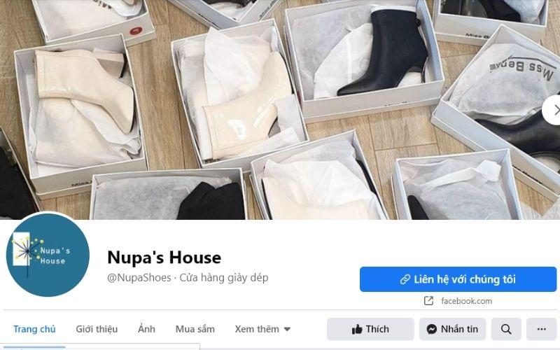 Cửa hàng giày dép Hà Nội Nupa House