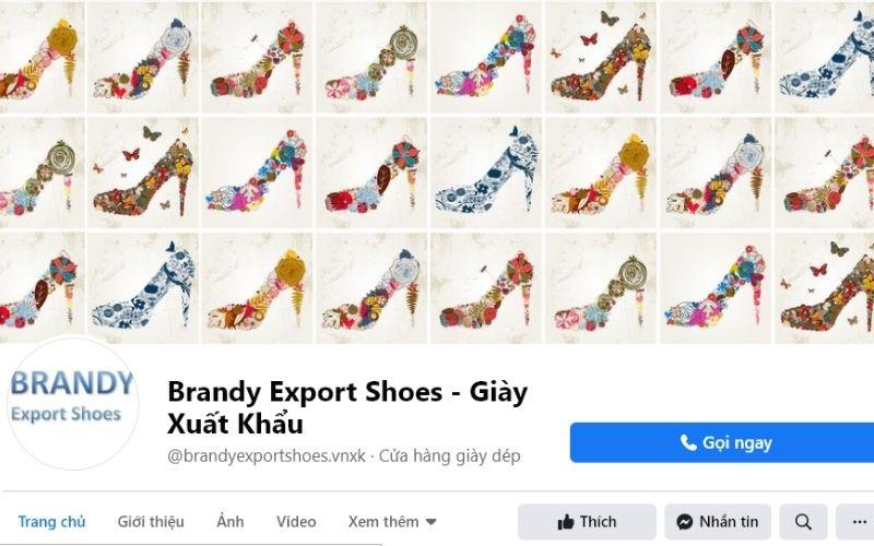 Vì là hàng xuất khẩu nên giày dép tại Brandy Export Shoes luôn đảm bảo về chất lượng, giá lại không quá đắt