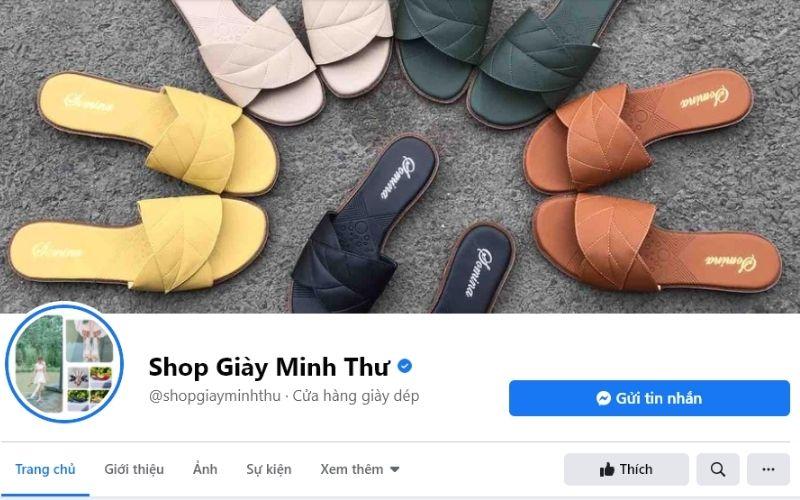 Minh Thư là shop bán giày dép nữ online nhiều người biết đến