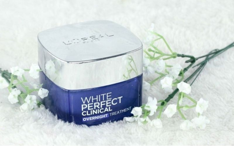 Kem dưỡng trắng da L'oreal Paris White Perfect Night Cream