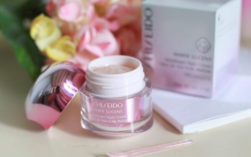 Kem dưỡng trắng da ban đêm Shiseido White Lucent MultiBright Night Cream