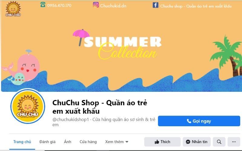 Shop bán quần áo trẻ em Đà Nẵng Chuchu Shop