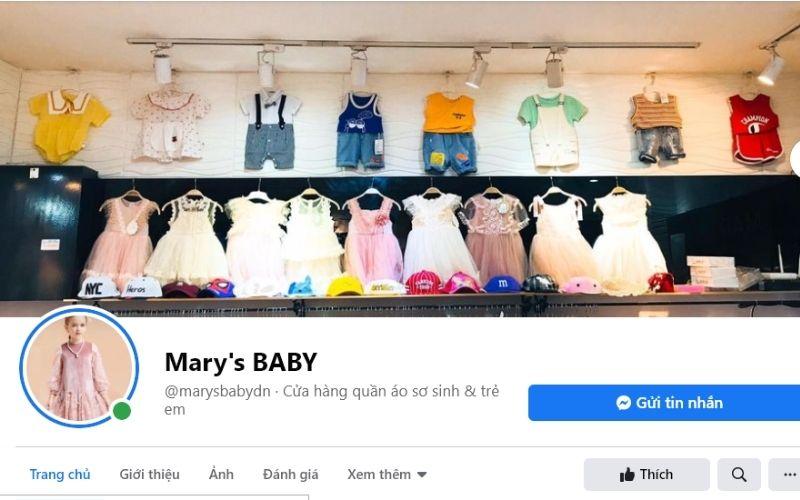 Shop quần áo trẻ em Đà Nẵng Mải's BABY