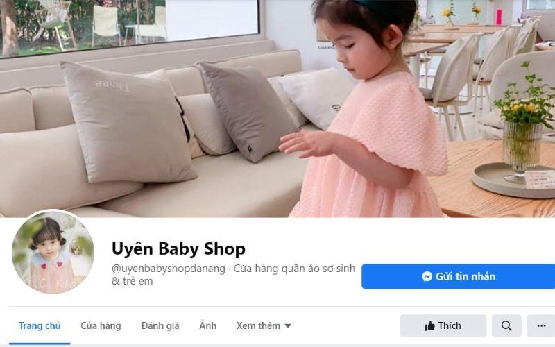 Cái tên Uyên Baby shop luôn lọt top những shop bán quần áo trẻ em Đà Nẵng đẹp nhất