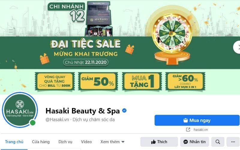 Hasaki là một shop mỹ phẩm rất uy tín, luôn cung cấp hàng chính hãng và chất lượng