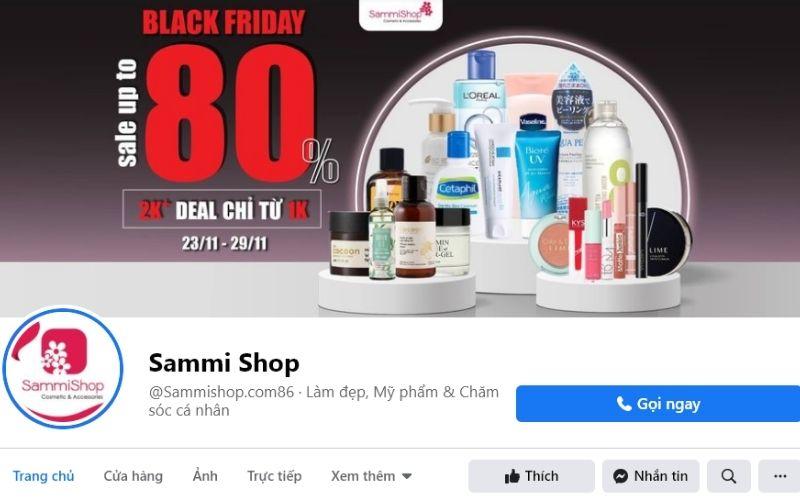 Sammi shop cung cấp son môi tới từ nhiều thương hiệu nổi tiếng
