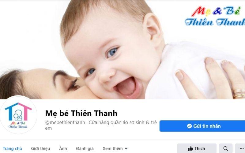 Shop mẹ bé Thiên Thanh là shop giày xinh xắn dành cho các bé mà các ạn không thể ỏ qua