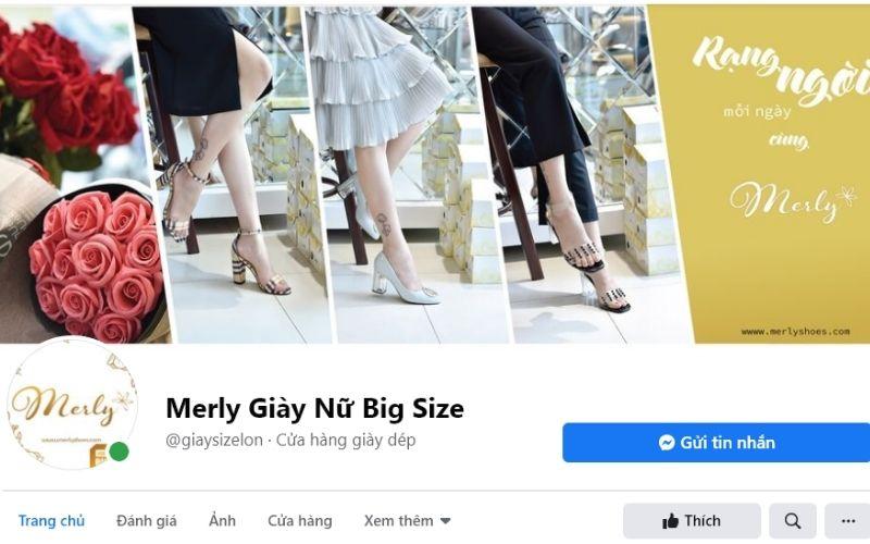 Merly là địa chỉ chuyên bán giày dép được nhiều bạn nữ ưa thích
