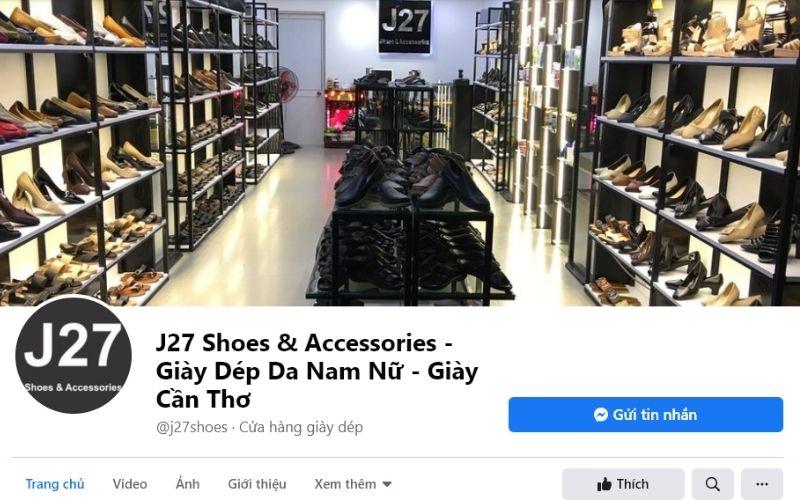 Bạn có thể sắm cho mình một đôi giày giá rẻ tại J27 Shoes & Accessories