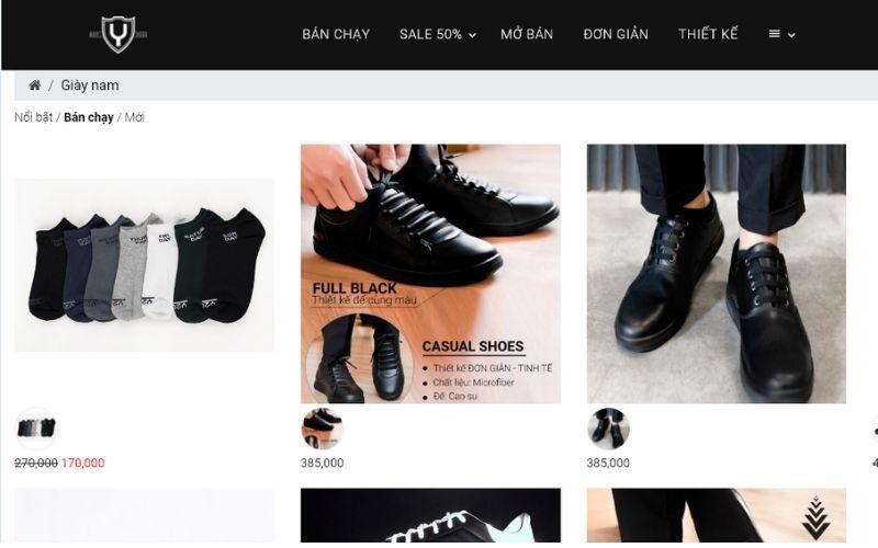 Yame là thương hiệu giày dép phù hợp với các bạn trẻ