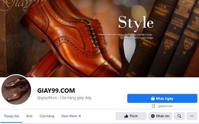 Giay99.com là shop giày nam ở Hà Nội có mức giá rất phải chăng