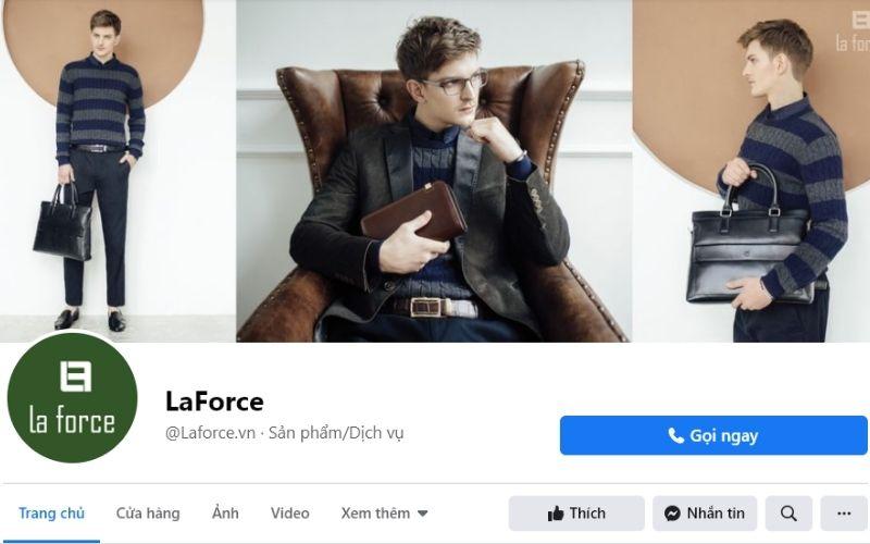 La Force là cửa hàng khá nổi tiếng chuyên bán các loại giày nam tại Hà Nội
