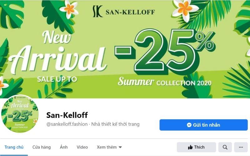 San - Kelloff là thương hiệu giày cao cấp  và có giá thành cao