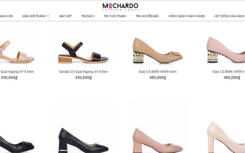 Thiết kế bắt mắt, nữ tính mang phong cách Châu Âu của Mochardo rất được khách hàng quan tâm
