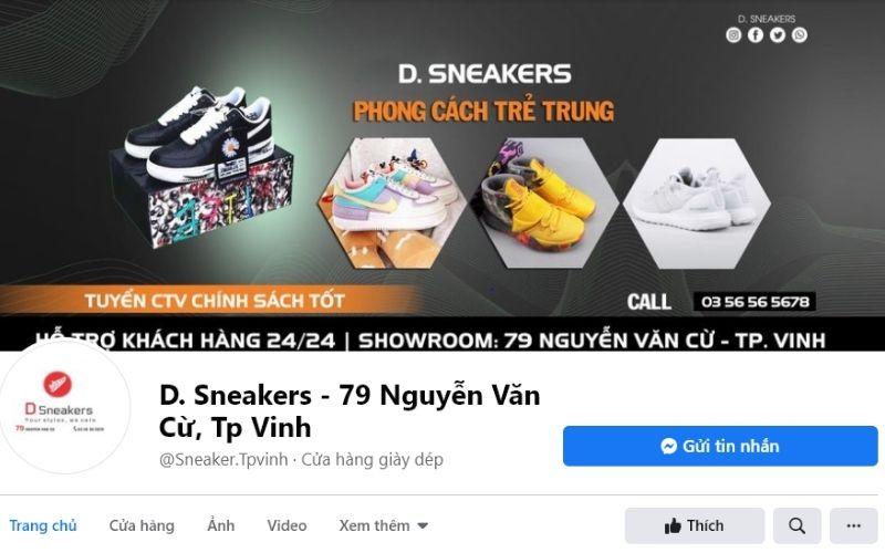 Đây chắc chắn là địa chỉ mà những tín đồ của dòng giày Sneaker không thể bỏ qua