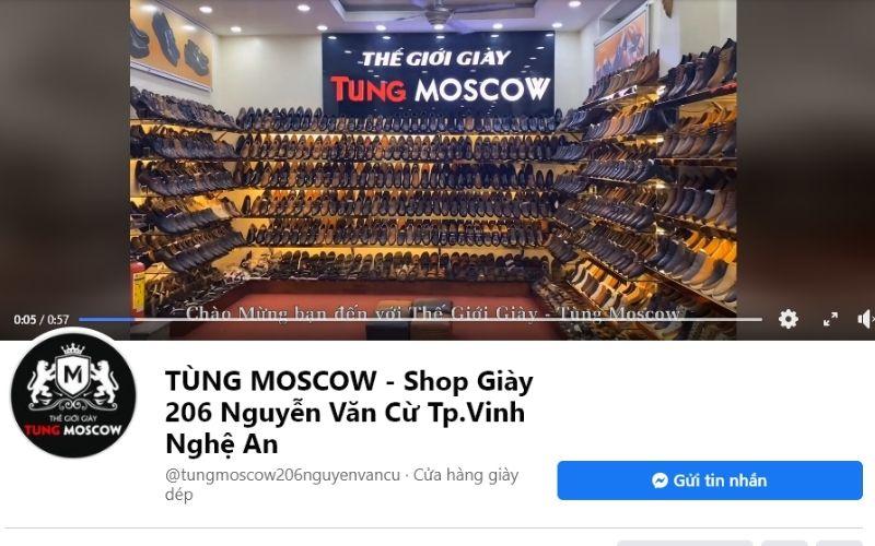 Giày tại Tùng Moscow rất đa dạng về kiểu dáng, màu sấc, thương hiệu,.. nên có thể lựa chọn thoải mái