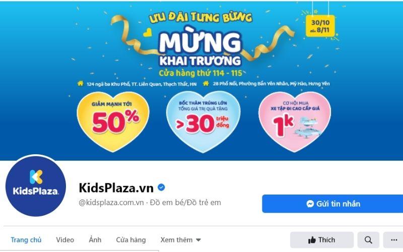 Rất nhiều sản phẩm giày cho trẻ em chất lượng cao được bán tại KidsPlaza
