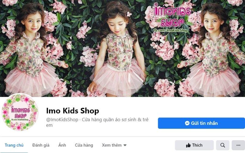 Shop quần áo trẻ em Imo Kids