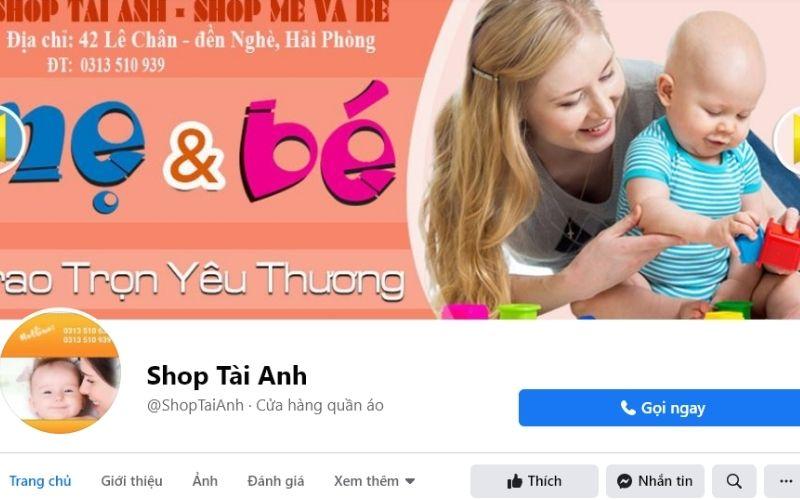 Tài Anh là địa chỉ phân phối quần áo trẻ em chất lượng