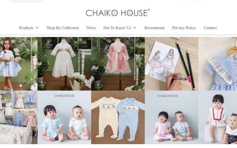 Chaiko House là shop quần áo trẻ em ở quận 1 rất có uy tín
