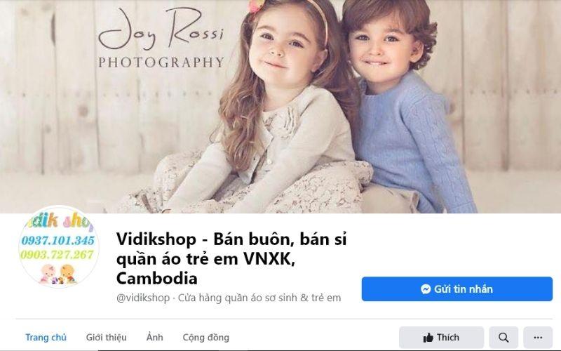 Vidikshop là một trong những shop quần áo trẻ em ở quận 1 được yêu thích nhất