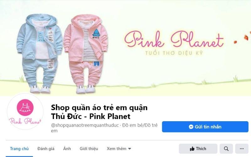 Shop quần áo trẻ em ở Thủ Đức Pink Planet là thành viên của chuỗi cửa hàng thời trang lớn