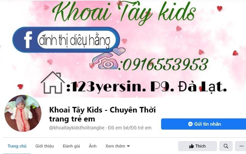 Khoai tây kids là shop trẻ em đẹp ở Đà Lạt rất đáng tin cậy