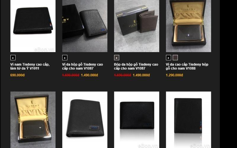 Để sở hữu một chiếc ví đẹp tại Ebon, bạn chỉ cần bỏ ra một số tiền tương đối nhỏ