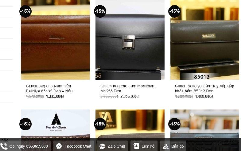 Bạn có thể lựa chọn cho mình chiếc ví ưng ý từ giá rẻ đến đắt tiền