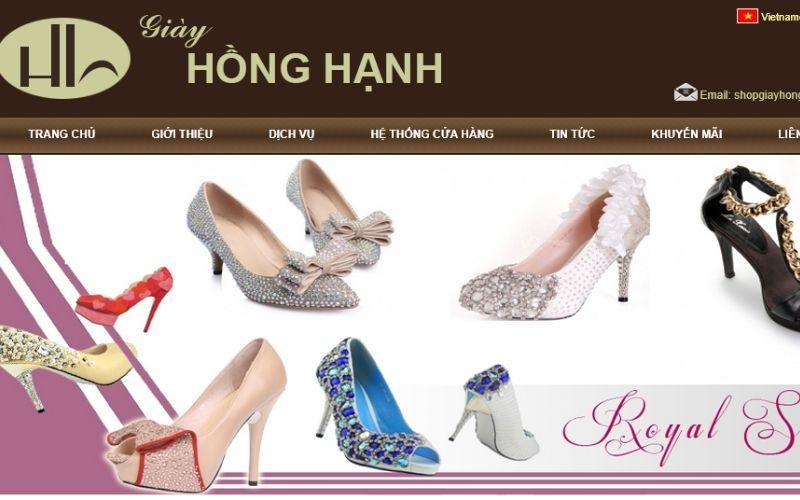 Giày dép tại Hồng Hạnh luôn đa dạng mẫu mã và phù hợp xu hướng thời trang