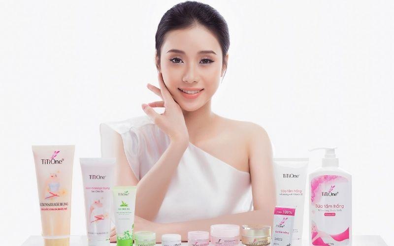 Các sản phẩm chăm sóc da mặt của Titione rất được ưa chuộng