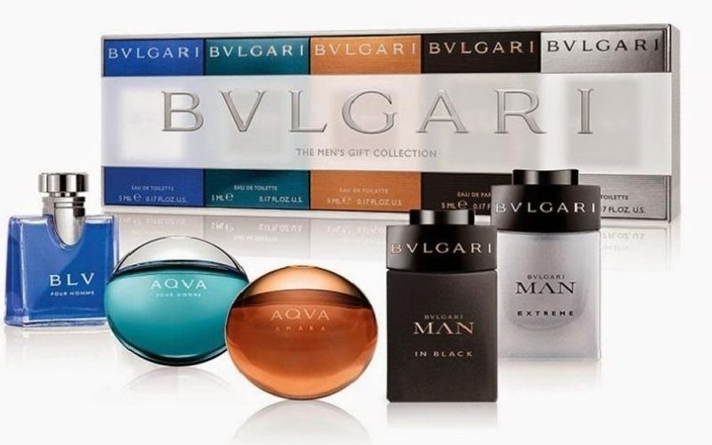 Nước hoa mang thương hiệu Bvlgari được nhiều người ưa thích