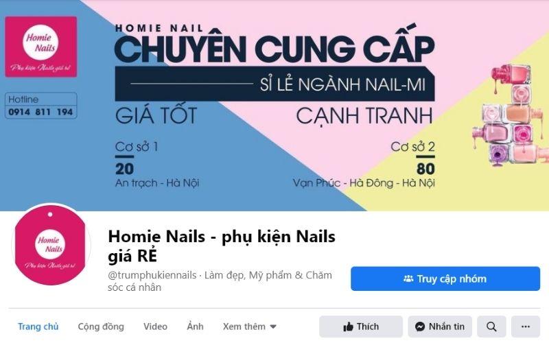 Homie Nails với phương châm Rẻ - Đẹp - Chất Lượng - Nhiệt tình