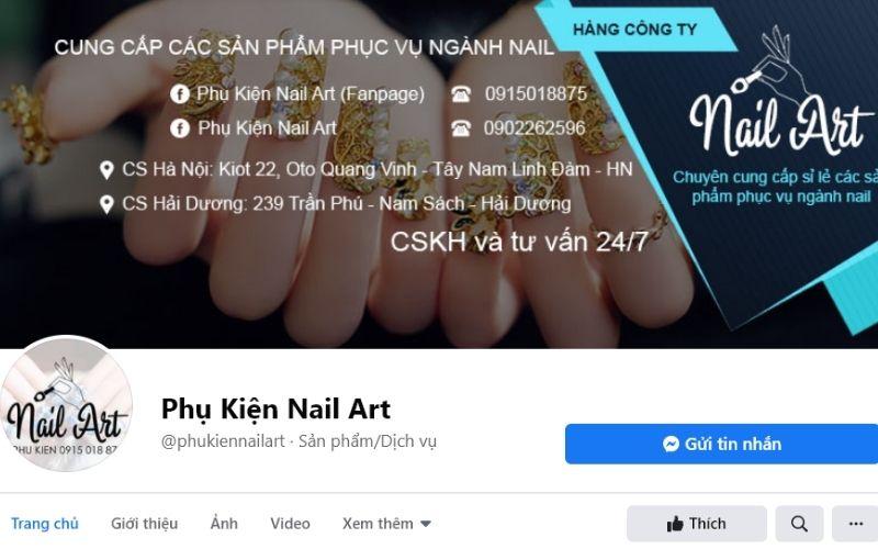 Phụ kiện Nail Art chỉ cung cấp phụ kiện nail chất lượng cho khách hàng