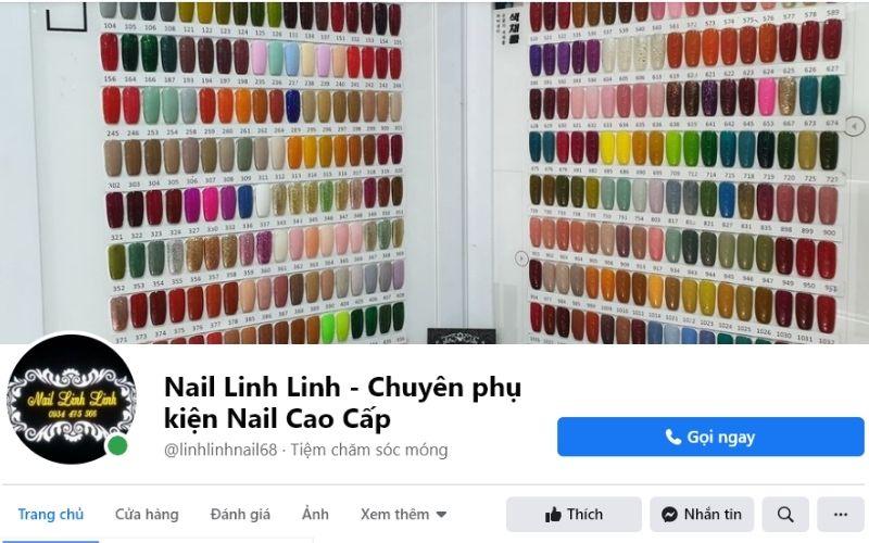 Nail Linh Linh cung cấp đa dạng các sản phẩm, phụ kiện nail với chất lượng cực tốt