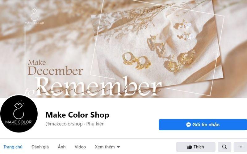 Make Color Shop tuy xuất hiện chưa lâu nhưng đã kịp tạo được chỗ đứng trong lòng các bạn trẻ Sài thành