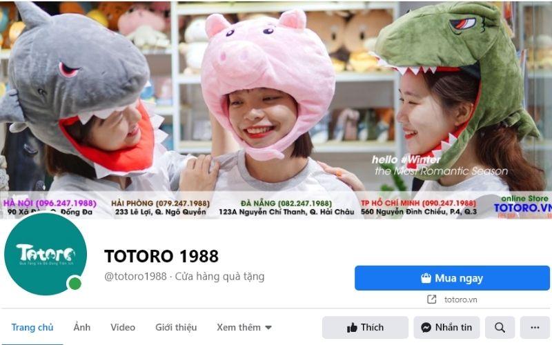 Totoro rất phù hợp với hội chị em mê phong cách trang trí nữ tính, dễ thương