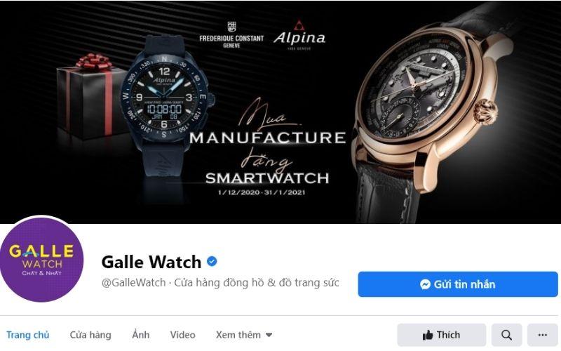 Galle với nhiều năm kinh nghiệm phân phối đồng hồ xứng đáng là cái tên để bạn quan tâm
