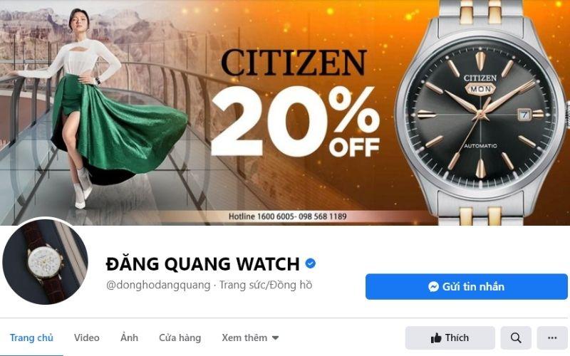 Đăng Quang Watch phân phối đồng hồ chính hãng từ nhiều thương hiệu nổi tiếng