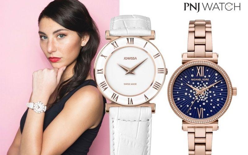 PNJ watch phù hợp với các bạn nữ ưa thích sự sang trọng