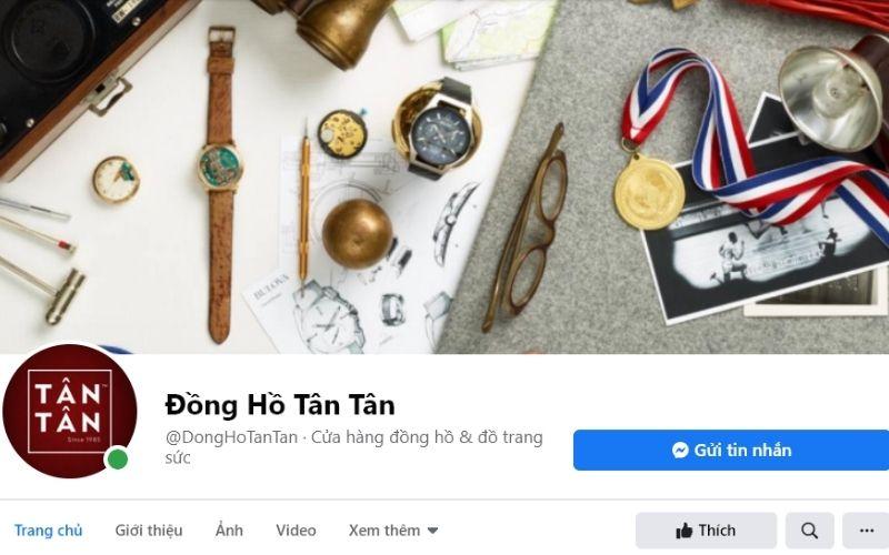 Shop đồng hồ ở tphcm Tân Tân uy tín chất lượng