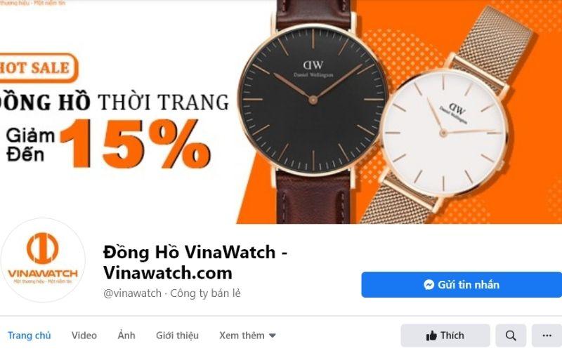 Vina Watch là một địa chỉ đáng tin cậy cho khách hàng muốn sở hữu một sản phẩm đồng hồ chính hãng.
