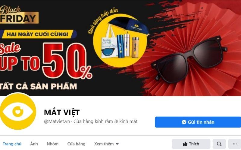 Shop mắt kính ở TPHCM - Cửa hàng mắt kính Mắt Việt