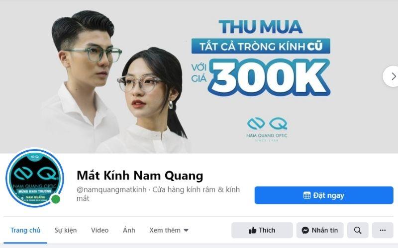 Shop mắt kính ở TPHCM - Cửa hàng mắt kính Nam Quang